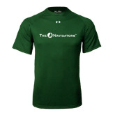 Under Armour Dark Green Tech Tee-The Navigators