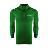 Under Armour Dark Green Tech 1/4 Zip Performance Shirt-The Navigators