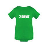 Kelly Green Infant Onesie-NAVS