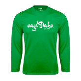 Syntrel Performance Kelly Green Longsleeve Shirt-Eagle Lake Camps