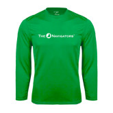 Syntrel Performance Kelly Green Longsleeve Shirt-The Navigators