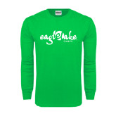 Kelly Green Long Sleeve T Shirt-Eagle Lake Camps