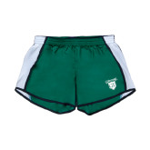 Ladies Dark Green/White Team Short-Glen Eyrie