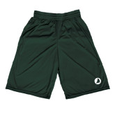 Midcourt Performance Dark Green 9 Inch Game Short-Navigators Sail