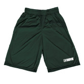 Midcourt Performance Dark Green 9 Inch Game Short-NAVS