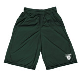 Midcourt Performance Dark Green 9 Inch Game Short-Glen Eyrie