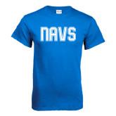 Royal T Shirt-NAVS Collegiate Modern