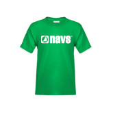 Youth Kelly Green T Shirt-NAVS