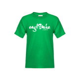 Youth Kelly Green T Shirt-Eagle Lake Camps