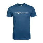 Next Level SoftStyle Indigo Blue T Shirt-The Navigators