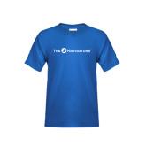 Youth Royal T Shirt-The Navigators