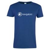 Ladies Royal T-Shirt-Navigators