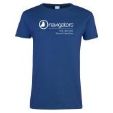 Ladies Royal T Shirt-Navigators