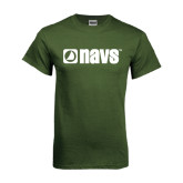 Military Green T Shirt-NAVS