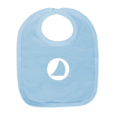 Light Blue Baby Bib-Navigators Sail