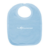 Light Blue Baby Bib-The Navigators