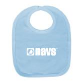 Light Blue Baby Bib-NAVS