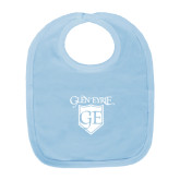 Light Blue Baby Bib-Glen Eyrie