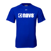 Under Armour Royal Tech Tee-NAVS