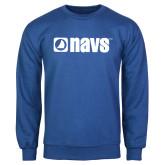 Royal Fleece Crew-NAVS