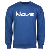 Royal Fleece Crew-NAVS New Age Font