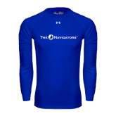 Under Armour Royal Long Sleeve Tech Tee-The Navigators