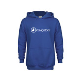 Youth Royal Fleece Hoodie-Navigators