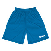 Performance Royal 9 Inch Length Shorts-NAVS