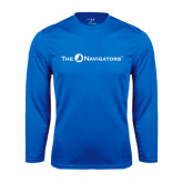 Syntrel Performance Royal Longsleeve Shirt-The Navigators