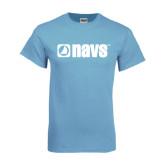Light Blue T Shirt-NAVS