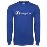 Royal Long Sleeve T Shirt-Navigators