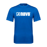Syntrel Performance Royal Tee-NAVS