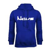 Royal Fleece Hoodie-NAVS New Age Font
