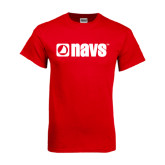 Red T Shirt-NAVS