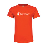 Youth Orange T Shirt-Navigators