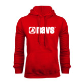 Red Fleece Hoodie-NAVS