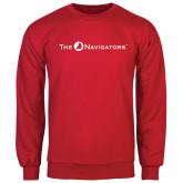 Red Fleece Crew-The Navigators