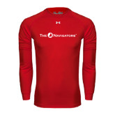 Under Armour Red Long Sleeve Tech Tee-The Navigators