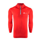 Under Armour Red Tech 1/4 Zip Performance Shirt-The Navigators