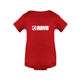 Red Infant Onesie-NAVS
