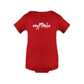 Red Infant Onesie-Eagle Lake Camps