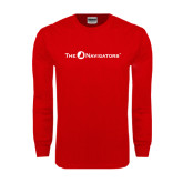 Red Long Sleeve T Shirt-The Navigators