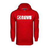 Under Armour Red Performance Sweats Team Hoodie-NAVS