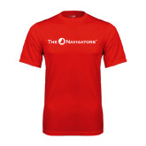 Syntrel Performance Red Tee-The Navigators