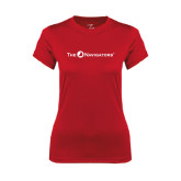 Ladies Syntrel Performance Red Tee-The Navigators
