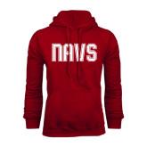 Cardinal Fleece Hood-NAVS Collegiate Modern
