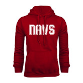 Cardinal Fleece Hoodie-NAVS Collegiate Modern