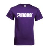 Purple T Shirt-NAVS