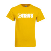 Gold T Shirt-NAVS