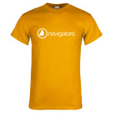 Gold T Shirt-Navigators